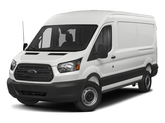 Oxford White 2018 Ford Transit Van Pictures Transit Van T-250 148 Med Rf 9000 GVWR Dual Dr photos front view