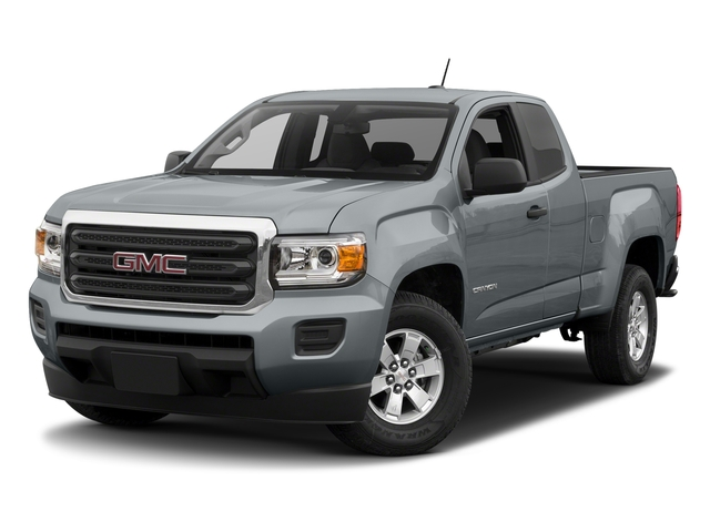 Satin Steel Metallic 2018 GMC Canyon Pictures Canyon 2WD Ext Cab 128.3 photos front view