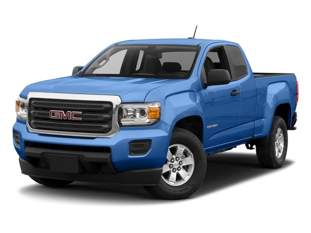 Marine Blue Metallic 2018 GMC Canyon Pictures Canyon 2WD Ext Cab 128.3 photos front view