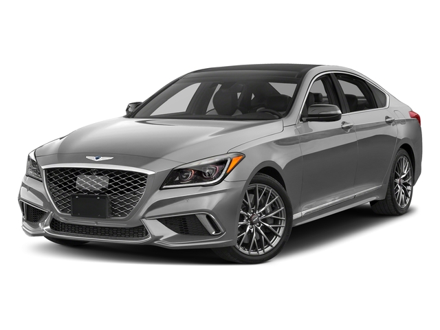 Himalayan Gray 2018 Genesis G80 Pictures G80 3.3T Sport AWD photos front view