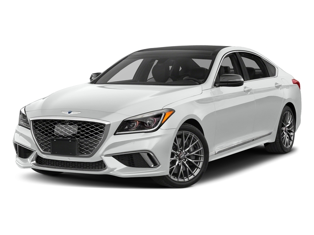 Polar Ice 2018 Genesis G80 Pictures G80 3.3T Sport AWD photos front view