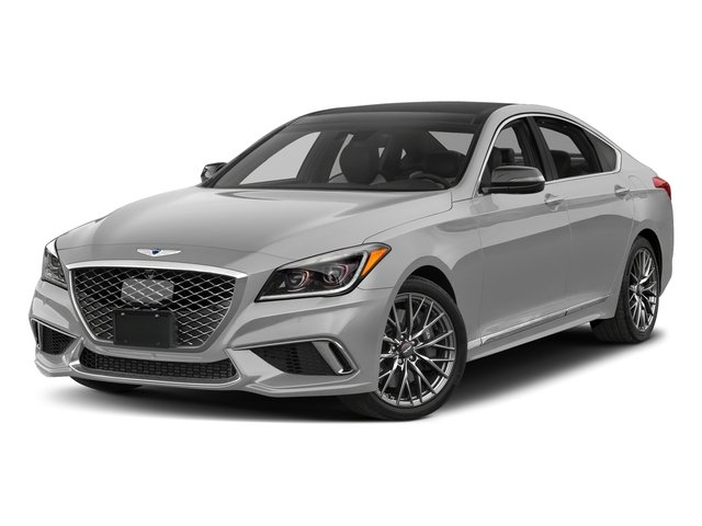 Siberian Ice 2018 Genesis G80 Pictures G80 3.3T Sport AWD photos front view