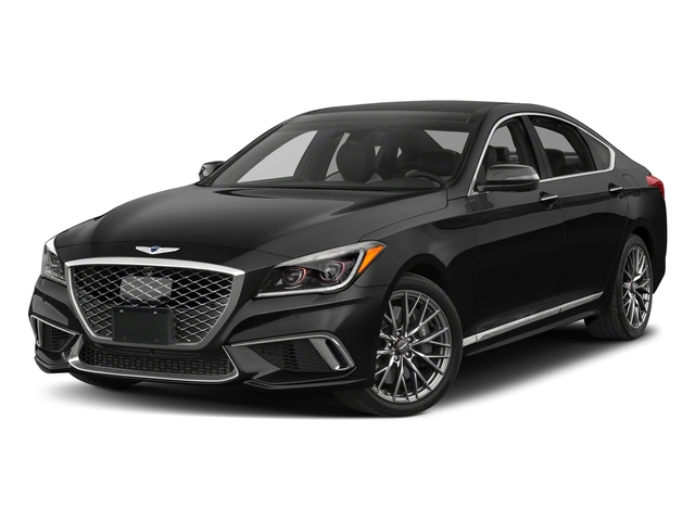 Victoria Black 2018 Genesis G80 Pictures G80 3.3T Sport AWD photos front view