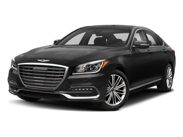 Himalayan Gray 2018 Genesis G80 Pictures G80 3.8L AWD photos front view
