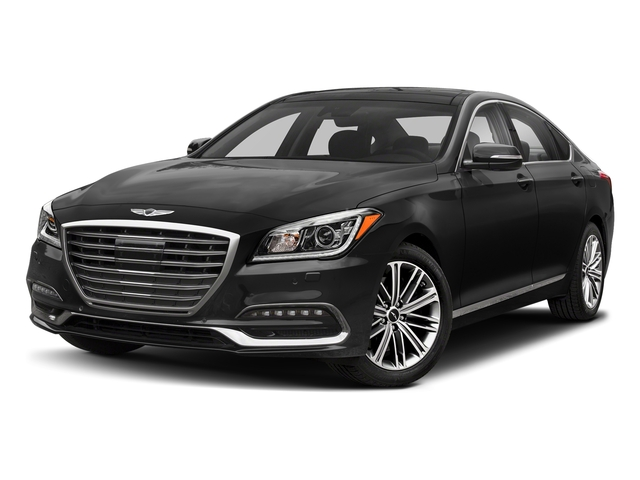 Himalayan Gray 2018 Genesis G80 Pictures G80 3.8L RWD photos front view