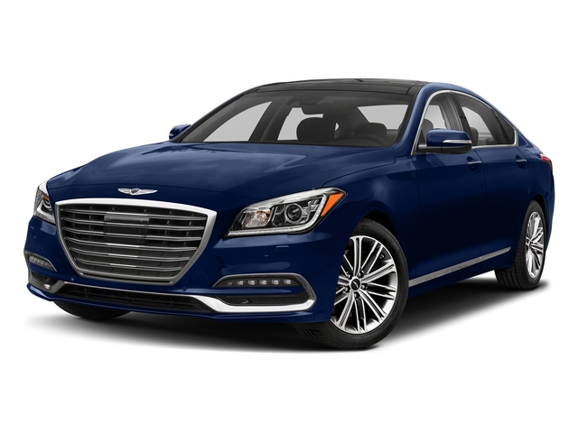Adriatic Blue 2018 Genesis G80 Pictures G80 3.8L RWD photos front view