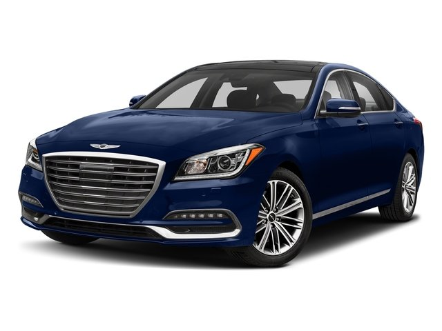 Adriatic Blue 2018 Genesis G80 Pictures G80 3.8L AWD photos front view