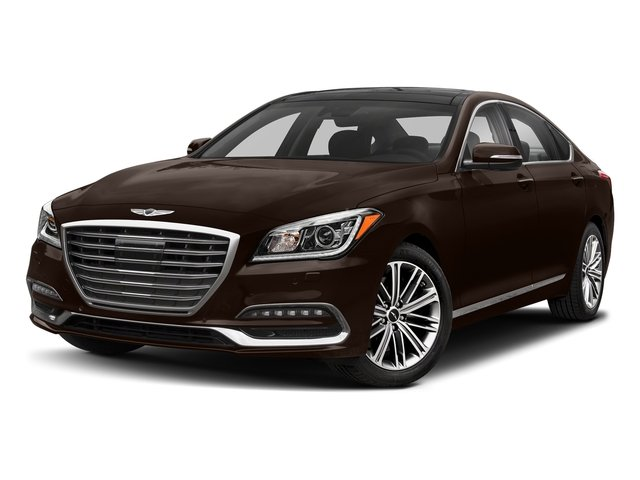 Serengeti Brown 2018 Genesis G80 Pictures G80 3.8L AWD photos front view