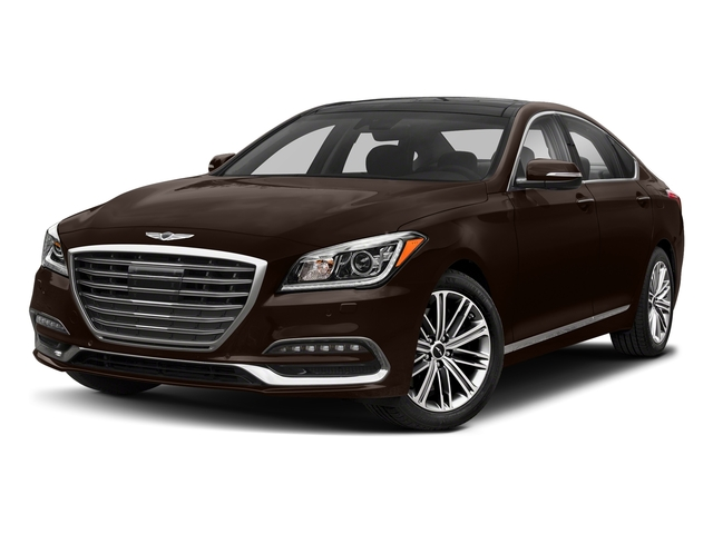 Serengeti Brown 2018 Genesis G80 Pictures G80 3.8L RWD photos front view