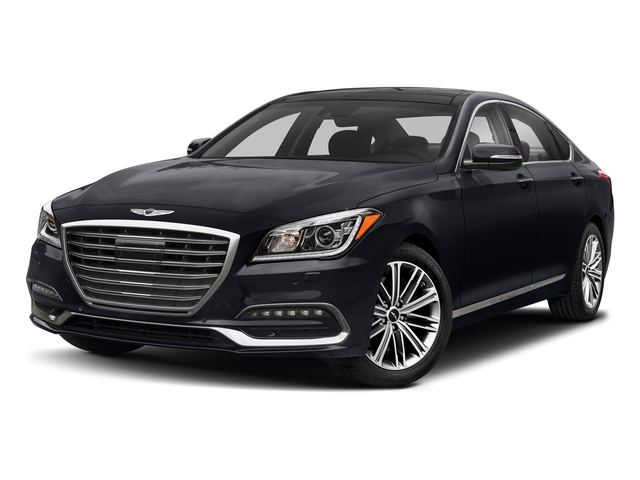Patagonia Blue 2018 Genesis G80 Pictures G80 3.8L RWD photos front view