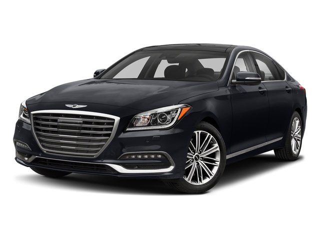 Patagonia Blue 2018 Genesis G80 Pictures G80 3.8L AWD photos front view