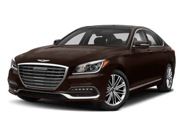 Manhattan Brown 2018 Genesis G80 Pictures G80 3.8L AWD photos front view