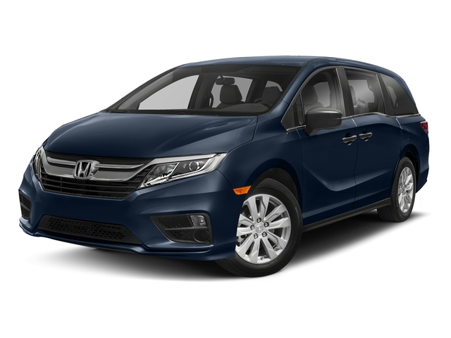 Obsidian Blue Pearl 2018 Honda Odyssey Pictures Odyssey LX Auto photos front view