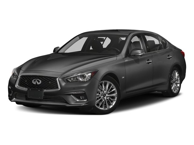 Graphite Shadow 2018 INFINITI Q50 Pictures Q50 2.0t PURE RWD photos front view