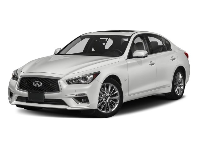 Pure White 2018 INFINITI Q50 Pictures Q50 2.0t PURE RWD photos front view