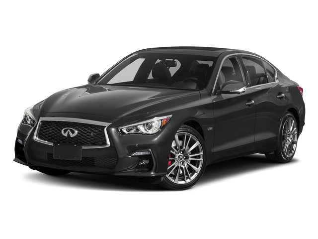 Graphite Shadow 2018 INFINITI Q50 Pictures Q50 3.0t SPORT AWD photos front view