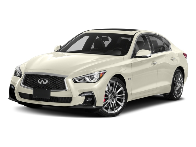 Majestic White 2018 INFINITI Q50 Pictures Q50 3.0t SPORT AWD photos front view