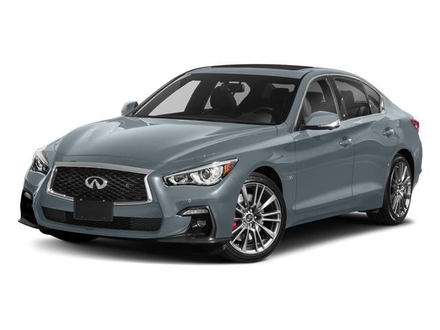 Hagane Blue 2018 INFINITI Q50 Pictures Q50 3.0t SPORT AWD photos front view