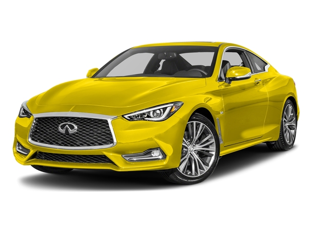Solar Mica 2018 INFINITI Q60 Pictures Q60 3.0t LUXE RWD photos front view