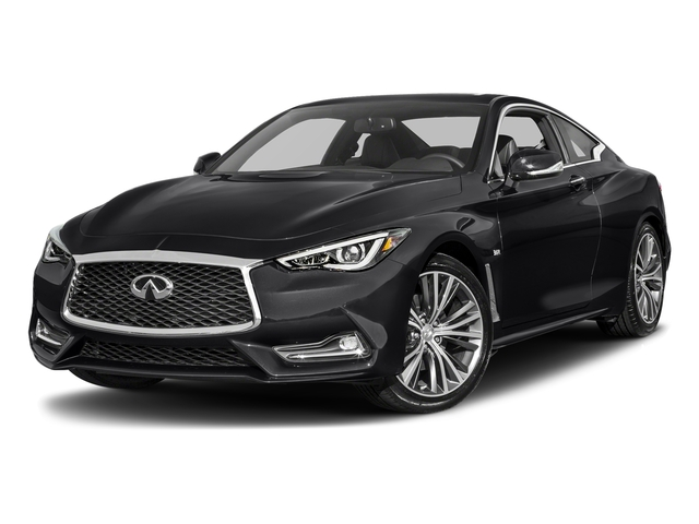 Midnight Black 2018 INFINITI Q60 Pictures Q60 3.0t LUXE RWD photos front view