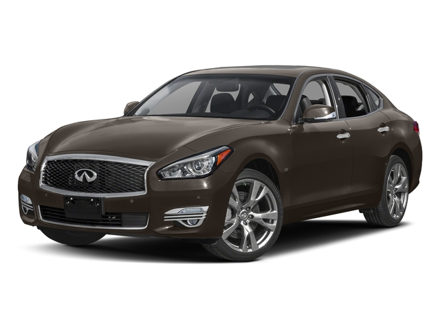 Chestnut Bronze 2018 INFINITI Q70 Pictures Q70 3.7 LUXE AWD photos front view