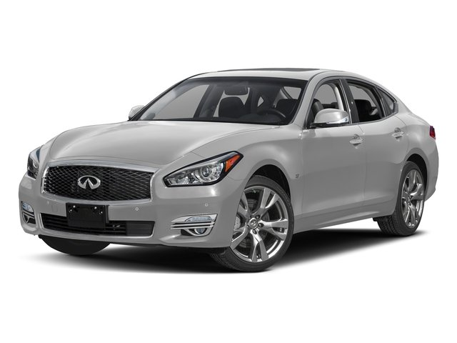 Liquid Platinum 2018 INFINITI Q70 Pictures Q70 3.7 LUXE AWD photos front view