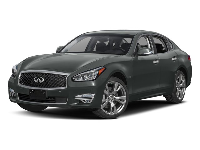 Graphite Shadow 2018 INFINITI Q70 Pictures Q70 3.7 LUXE AWD photos front view