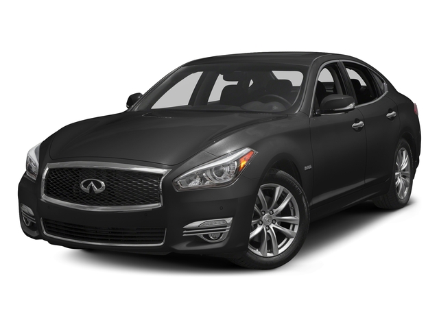 Graphite Shadow 2018 INFINITI Q70 Pictures Q70 Sedan 4D V6 Hybrid photos front view