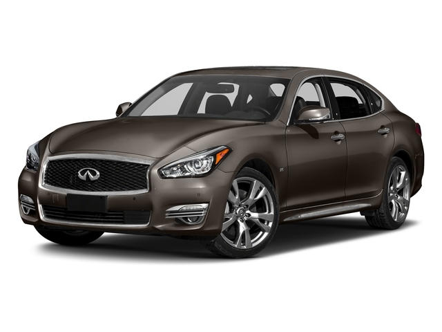 Chestnut Bronze 2018 INFINITI Q70L Pictures Q70L 3.7 LUXE AWD photos front view