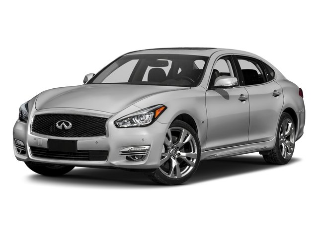 Liquid Platinum 2018 INFINITI Q70L Pictures Q70L 3.7 LUXE AWD photos front view