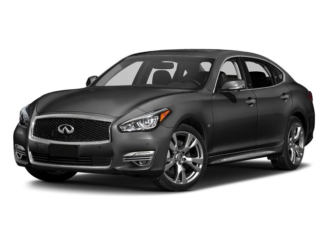 Graphite Shadow 2018 INFINITI Q70L Pictures Q70L 3.7 LUXE AWD photos front view