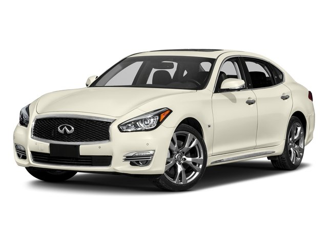 Majestic White 2018 INFINITI Q70L Pictures Q70L Sedan 4D LWB AWD V6 photos front view