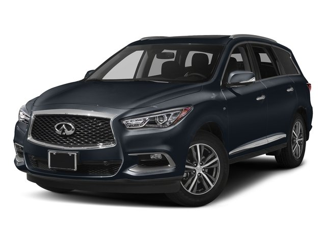 Hermosa Blue 2018 INFINITI QX60 Pictures QX60 AWD photos front view