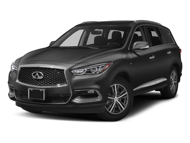 Black Obsidian 2018 INFINITI QX60 Pictures QX60 AWD photos front view