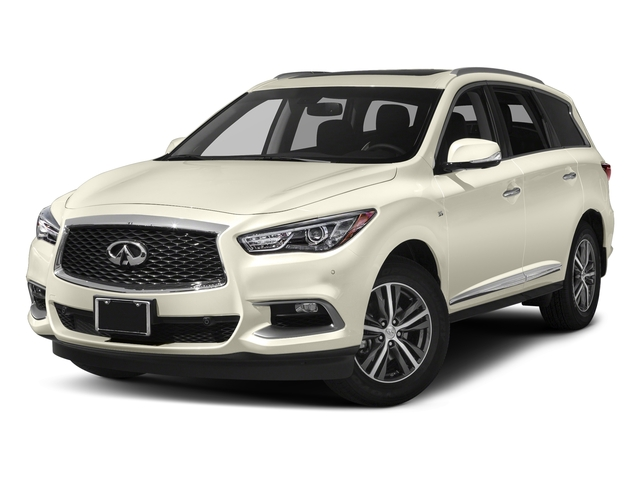 Majestic White 2018 INFINITI QX60 Pictures QX60 AWD photos front view