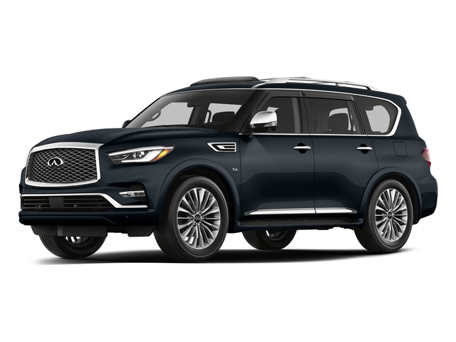 Hermosa Blue 2018 INFINITI QX80 Pictures QX80 AWD photos front view