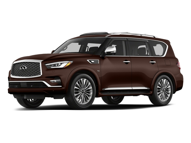 Mocha Almond 2018 INFINITI QX80 Pictures QX80 AWD photos front view