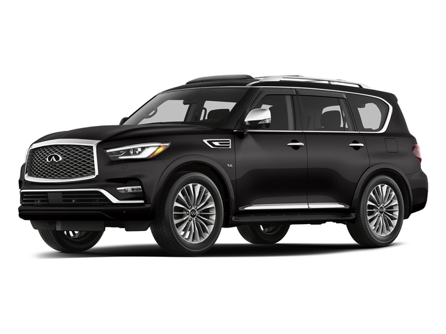 Mineral Black 2018 INFINITI QX80 Pictures QX80 AWD photos front view