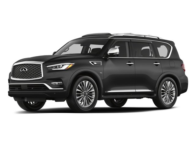 Graphite Shadow 2018 INFINITI QX80 Pictures QX80 AWD photos front view