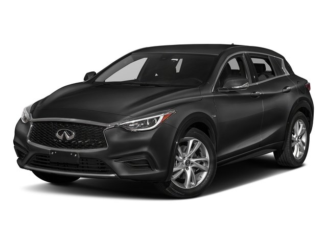 Pearlescent Black 2018 INFINITI QX30 Pictures QX30 2018.5 ESSENTIAL AWD photos front view