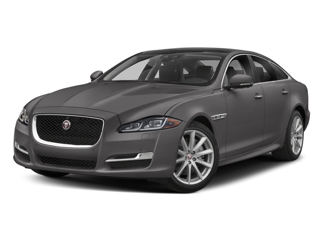 Corris Grey Metallic 2018 Jaguar XJ Pictures XJ XJ Supercharged RWD photos front view