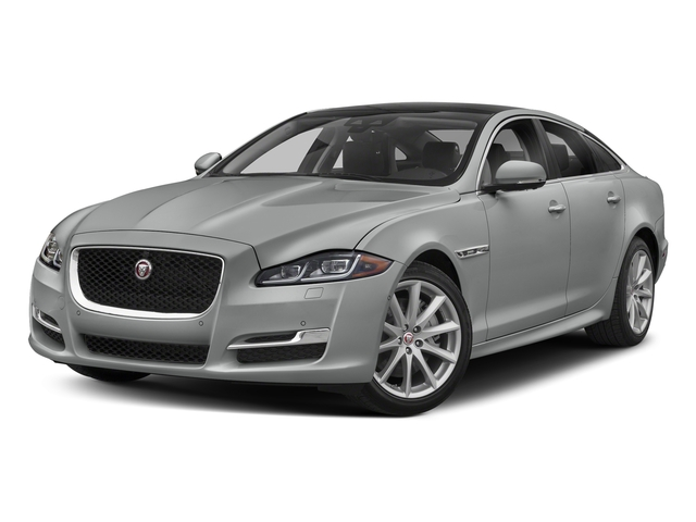 Indus Silver Metallic 2018 Jaguar XJ Pictures XJ XJ Supercharged RWD photos front view