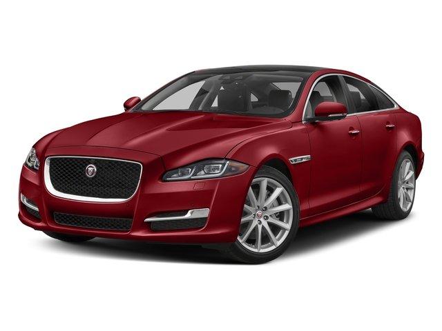 Firenze Red Metallic 2018 Jaguar XJ Pictures XJ XJ Supercharged RWD photos front view