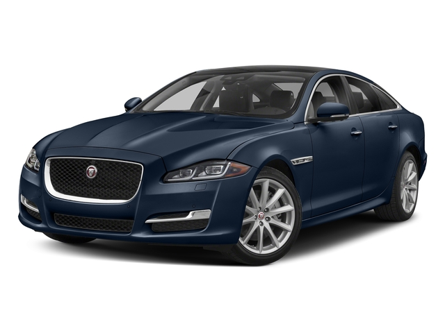 Loire Blue Metallic 2018 Jaguar XJ Pictures XJ XJ Supercharged RWD photos front view
