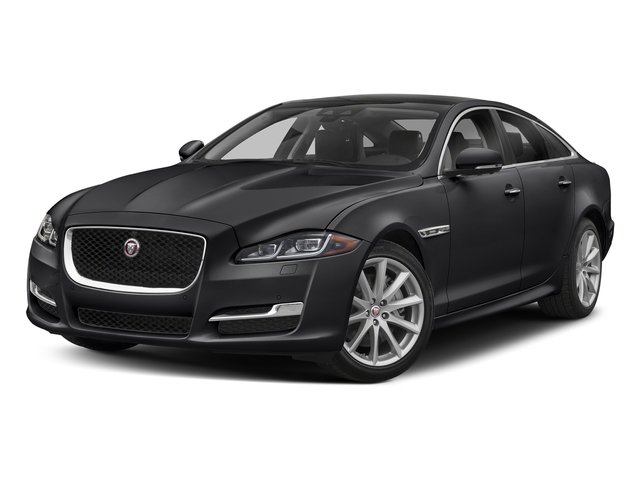 Carpathian Grey Premium Metallic 2018 Jaguar XJ Pictures XJ XJ Supercharged RWD photos front view