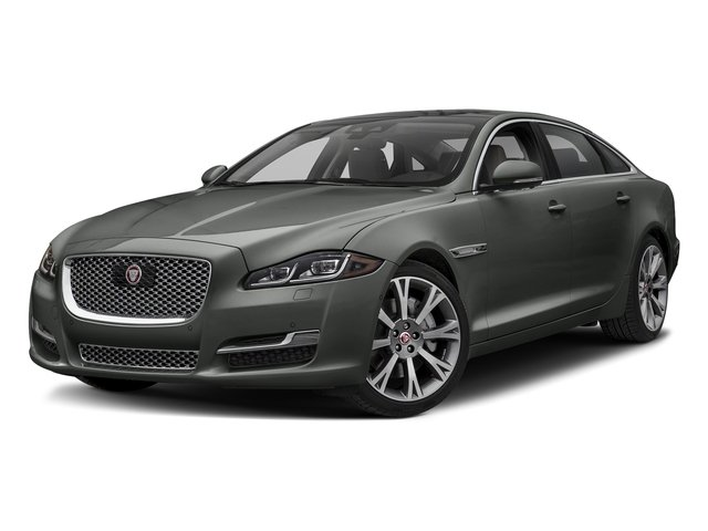Corris Grey Metallic 2018 Jaguar XJ Pictures XJ XJL Portfolio RWD photos front view