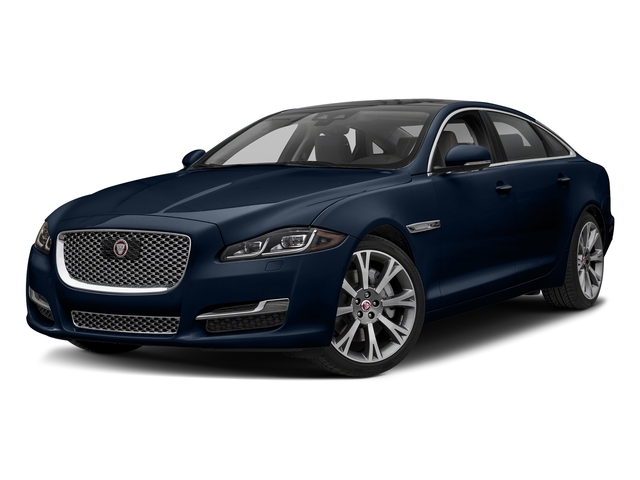 Loire Blue Metallic 2018 Jaguar XJ Pictures XJ XJL Portfolio RWD photos front view
