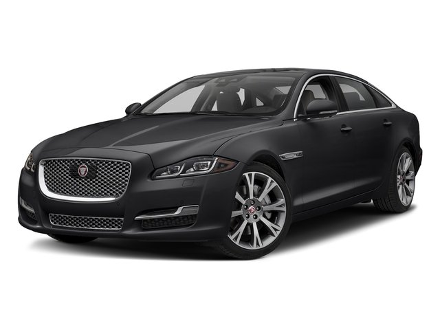 Narvik Black 2018 Jaguar XJ Pictures XJ XJL Portfolio RWD photos front view