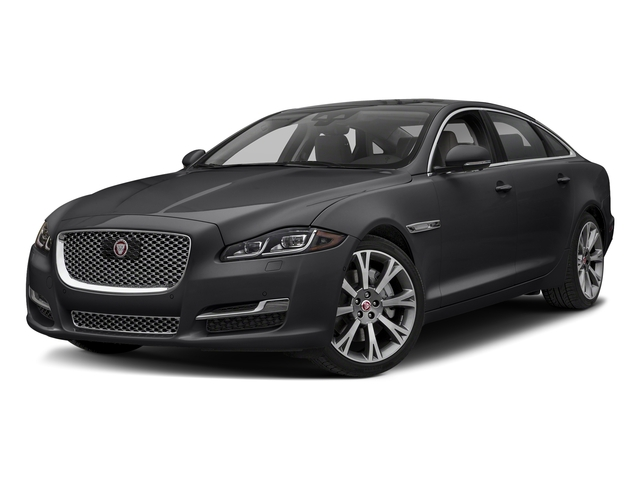 Carpathian Grey Premium Metallic 2018 Jaguar XJ Pictures XJ XJL Portfolio RWD photos front view