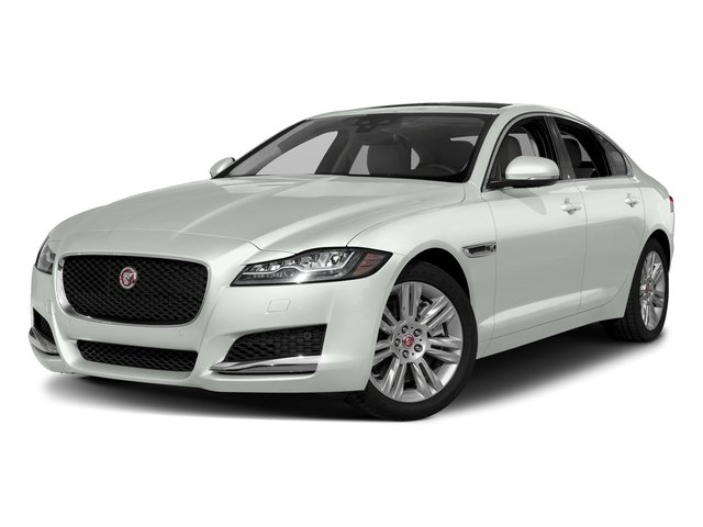 Fuji White 2018 Jaguar XF Pictures XF Sedan 30t Premium RWD photos front view